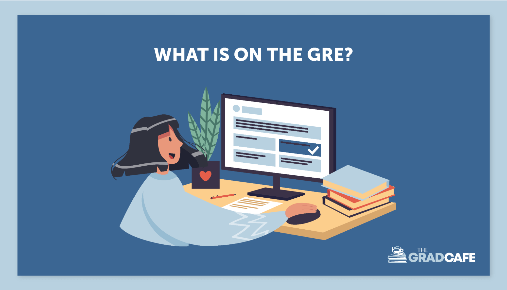 Visit the ETS website for more information on the GRE exam