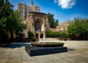 It's not easy to get into an Ivy League Grad School like Yale (pictured), but it's not impossible